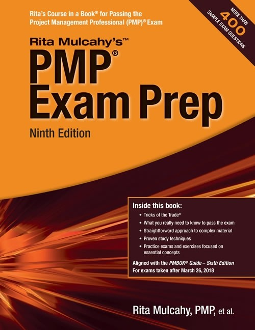 PMP ® Exam Prep Book 9th Edition